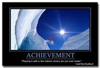 achievement quotes - Achievement Motivational Quotes Silk Poster Print x36 inches