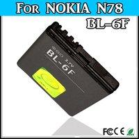 Cheap 1200mAh N78 battery For Nokia BL-6F N78 N79 N95 6788 6788i phone Battery