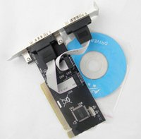 Wholesale Ports PCI to COM pin Serial Port RS232 Card adapter RS232 to PCI controller card