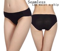 beautiful hipsters - New Women s Underwear Hipster Ice silk Seamless Sexy Beautiful Hip Briefs Panties Knickers free size sale