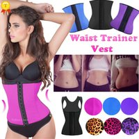 Wholesale 2015 new Women body shaper Waist Trainer training corsets Corset Latex Corset Sexy Women Latex Waist Cincher Slimming Shapewear Latex corset