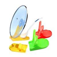 Wholesale New Hot Sale Plastic Pot Pan Shelf Cover Lid Ladle Organizer Stand Holder Rack Kitchen Tool EV1425414
