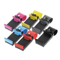 Wholesale Car Steering Wheel Bike Clip Mount Holder For iphone Phone for Samsung GPS Hot New Arrival