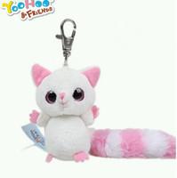 bear license - Licensed plush animal doll sand fox cm key mobile phone pendant for baby gifts yyx001
