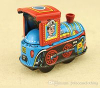 Wholesale Mini Cute Children s Toys for Kids Nostalgic Vintage Handmade Locomotive iron Toys for Kids collection