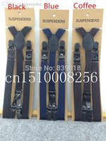 adjusting to braces - PC New Mens Womens Unisex Clip on Suspenders CM CM PU and Elastic Buckles to adjust Y Shape Adjustable Braces suspenders