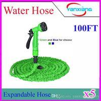 Plastic DIN Water Hose 500pcs HOSE Expandable & Flexible Water Garden Hose Flexible Water Hose with valve and Spray Nozzle ZY-SG-04