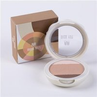 compact powder makeup - 3 Color Beauty Compact Pressed Powder MISS yifi Cosmetics Makeup Sponge g Buff Package Whitening Conceal Dark Circle Contour DM6035
