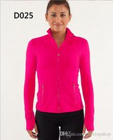 Wholesale define jackets for women yoga athletic mix order color over by EMS can do drop shipping