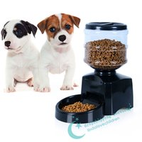 automatic feeding machine - Dog Feeder Pet Intelligent Feeder LCD Monitor Recording Capacity Time Quantitative Automatic Machine Feed The Dog