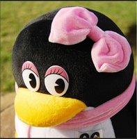 "Cheap 20cm 7.87"" New Child Home Decor Pillow Animals Family Penguins Stuffed Doll Plush Toy Doll Birthday Valentine Gift Girl"