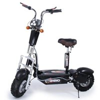 Wholesale New Design Low Noise Long Life Front and Rear Suspension V W Hub Motor e Scooter with Front and Rear Suspension and V AH Battery