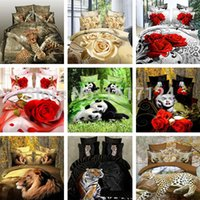 Cheap Home textiles, 3D bedding set marilyn monroe bed set lion king bedding giraffe print bedding free shipping queen and twin size