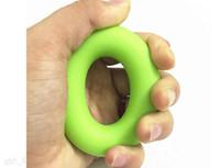 7cm fuerza en los dedos de la mano de agarre fuerza muscular Formación del anillo de goma Exercizer 30 libras 40 libras 50 libras DHL