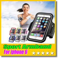 Wholesale WaterProof Sport Gym Running Armband Case Cover Bag Pouch For Iphone plus s s SAMSUNG Galaxy S4 S5 Note