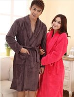 bathing bathrobe gown - retail amp winter mans mens high quality flannel long bathrobe mens excellent noble night gown bathing suits home dress