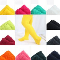 bamboo baby leggings - 2015 Genuine Fashion Girl Baby Stockings100 Cotton Breathable Kids Dance Stockings Colors Children Leggings Pants