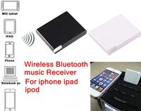 Wholesale Bluetooth A2DP Music Receiver Audio Adapter for ipad iPod iPhone Pin Dock
