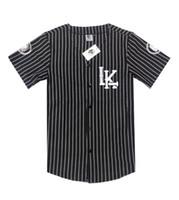 baseball polo - hoodies sweatshirts Baseball T shirts LK mens tshirt shirt Polos Tees white black Short sleeve t shirt Fashion shirts New York shirts