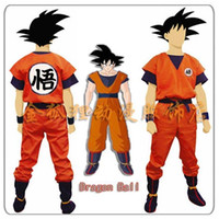 best l cosplay - best selling new Dragon Ball Z Son Goku Kids Adult Cosplay Costume party supplies Full set