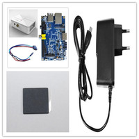 Cheap Banana pi value kit: ABS case sata line heat sink charger adapter value pack free shipping in stock!!