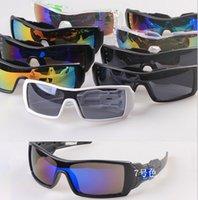 MOQ = 10PCS nouvelle mode coloré populaire vélo de vélo miroir Sport Outdoor lunettes lunettes de soleil pour les femmes hommes 36968 Lunettes de soleil