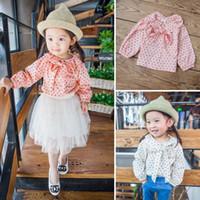 baby turtleneck shirts - Baby Shirts Girls Tops Blouses Kid Long Sleeve T Shirts Child Shirt Korean Girl Dress Spring Children Clothes Kids Clothing Ciao C22142