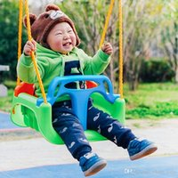 Wholesale Children s Outdoor Toys Swings Indoor And Outdoor Kids Hanging Chairs Sports Toys High Quality Plastic Material More Robust