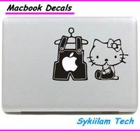 hello kitty laptop skin - Cartoon for Hello Kitty Clothes for apple Sticker Macbook Skin Air Pro Retina Decal Laptop Auto Vinyl Label Case