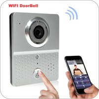 Wholesale Wireless WIFI Door Bell Camera Real Time Talking Intercom Doorbell with Smartphone Remote control for Home Security F4316D