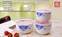 microwave porcelain bowl - Heyday China Peony Porcelain Fresh Bowl Table Ware Ideal for Microwave Oven Made in Jingdezhen Jiangxi China No S673 C003
