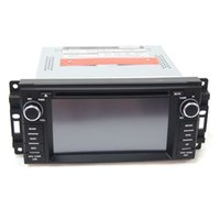 Wholesale 1 DIN Car DVD Players Special In Dash Android Car DVD Players Fit for Jeep Compass Wrangler Grand Cherokee Inch Touch Screen