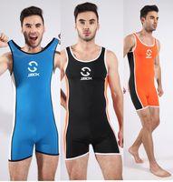 Mens Shape Underwear for sale - Brand swimwear men Sexy One Picece Swimsuit Set Gym Bodysuit Fitness Mens Undershirt Sports Shaping Underwear For Men Beach Wear Swim Suit