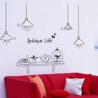 abstract flower photos - Mirror wall stickers personalized photos of wall furnishings flower vine clothing decorative painting