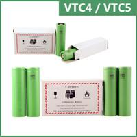 Wholesale US18650 VTC4 VTC5 battery for e cigarette mod e cig V mAh mAh vs Trustfire best fire battery