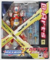 Wholesale Japanese Anime Original Bandai Tamashii Nations D arts Rockman MEGA MAN X2 Zero TYPE Action Figure Toy