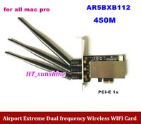 airport antenna - For MACPRO PCI E X G G M Airport Extreme AR5BXB112 three antennas Wireless Card For All Mac Pro order lt no track