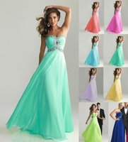 Cheap Cheap A-line Empire Chiffon Bridesmaid Dress Cap Sleeves Sweetheart Long Length Backless Coral Evening Gowns Prom Dresses Under $100 Sexy