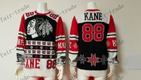 authentic sweaters - Chicago Blackhawks Patrick Kane Sweater Ice Winter Jersey Cheap Hockey Jerseys Authentic Stitched Size