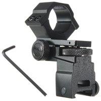 Wholesale Hot Sale mm Ring Tactical Laser Sight Flashlight Rifle Scope Mount Adjustable Elevation Windage for mm Rail System