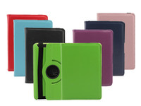 Wholesale Fashional Kindle HD Litchi Grain Degrees Rotation Inch in Smart Case For Ipad