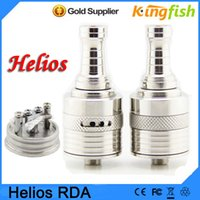 Cheap Helios v11 rebuildable atomizer electronic cigarette Helios RDA Atomizer helio fit chi you mod clone helio-3 helio vaporizer pen e cigarette