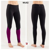 Wholesale 2014 New Brand High Quality Lululemon Wunder Under Pants Lulu Pants Free to Mix Color Cheap Price Over pc by EMS