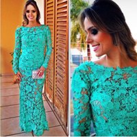 long backless dress - Wedding Bridesmaid Long Backless Dress Lace Embroidery Long Sleeves Design Party Banquet Dress wye007