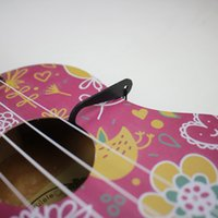 Wholesale 2015 hot sell Adjustable Nylon Ukulele Strap With Hook For Ukuleles for All Size Ukuleles Black Color High Quality