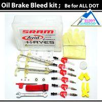 avid brake bleed kit - New AVID sram Oil Brake Bleed Kit For Avid bicycle Disc Brake Juicy DOT HAYES J3 J5 J7ultimate r1 RX K24 K18