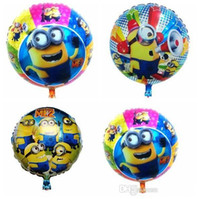 balloons direct - Despicable ME Minions Foil Balloons Aluminium Coating Novelty Helium Balloon Toys cm Party Decorations Free UPS Factory Direct