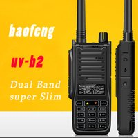 walk talkie - Baofeng UV B2 Walkie Talkie W High Power Radio VHF UHF Ham Pofung Two way Dual Band Radio Walkie Talkie Case Charger Walk Talk
