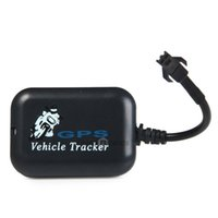 Wholesale Mini GPS GPRS GSM Tracker Car Vehicle SMS Real Time Network Monitor Tracking Security for Pets Kids for IOS Android Phones