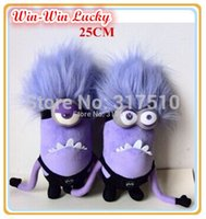 animal viruses - CM Punk Purple virus Version Minion Plush Toys Despicable Me Sof Cartoont Doll Baby Toys Children s Gifts